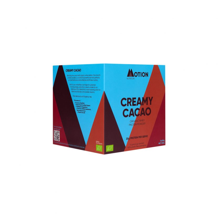 Motion Nutrition Creamy Cacao Protein Shake