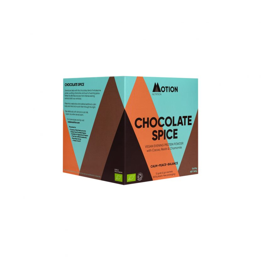 Motion Nutrition Chocolate Spice Evening Shake